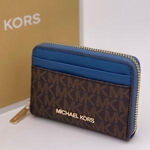 Michael Kors Jet Set Travel Card Case Wallet